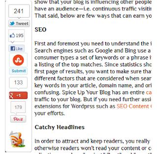 Bookmark Bar Blogger Screenshot
