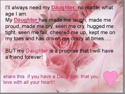 I Love My Daughter Quotes And Sayings Love Quotes
