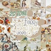 New Year 20 โทนห้ามพลาด ต้อนรับปี 2020 | Snapseed QR