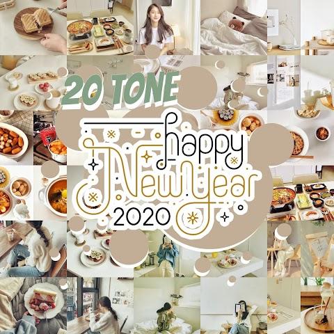 New Year 20 โทนห้ามพลาด ต้อนรับปี 2020   Snapseed QR