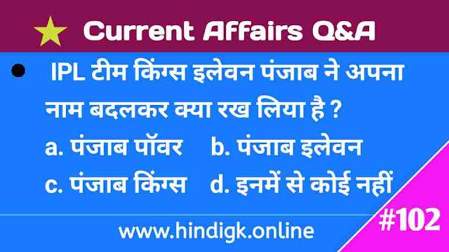 17 February 2021 Current Affairs In Hindi