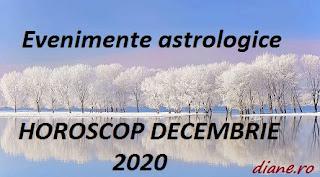 Evenimente astrologice în horoscopul decembrie 2020