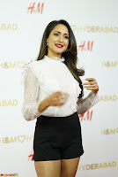 Pragya Jaiswal in lovely Black Mini Skirt and White Transparent Shirt ~  Exclusive 052.JPG