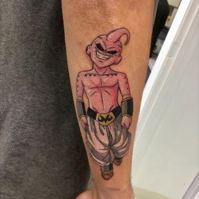 Majin Buu tattoo