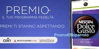 Logo Nescafè Dolce Gusto programma fedeltà ''Premio'' con fantastici premi certi per te