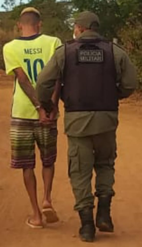 FORAGIDO da justiça é localizado e preso em Barra D´Alcântara.