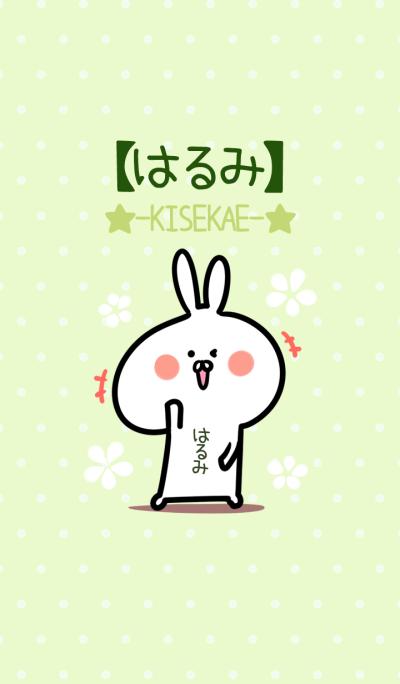Harumi usagi green Theme