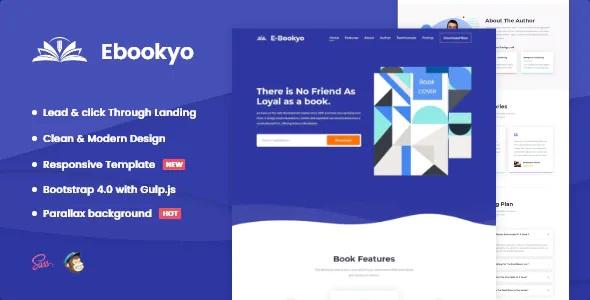 Best Ebook HTML Landing Page Template
