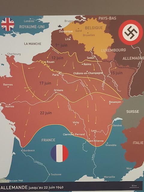 Avancée allemande en Juin 1940