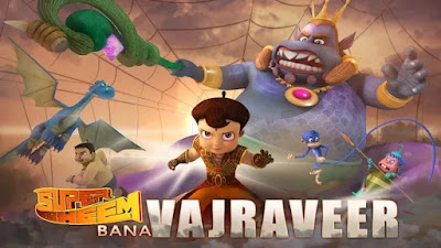 Watch Online Super Bheem Bana Vajraveer 2019 Full Movie Download HD Small Size 720P 700MB HEVC HDRip Via Resumable One Click Single Direct Links High Speed At WorldFree4u.Com