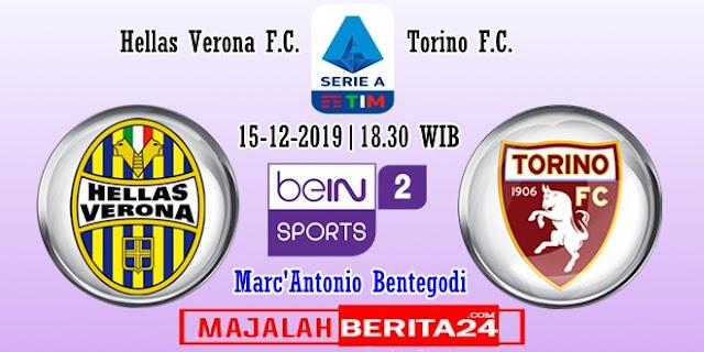 Prediksi Hellas Verona vs Torino — 15 Desember 2019