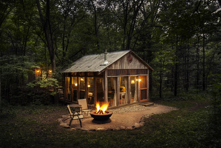 Coolest Cabins Glass House Cabin