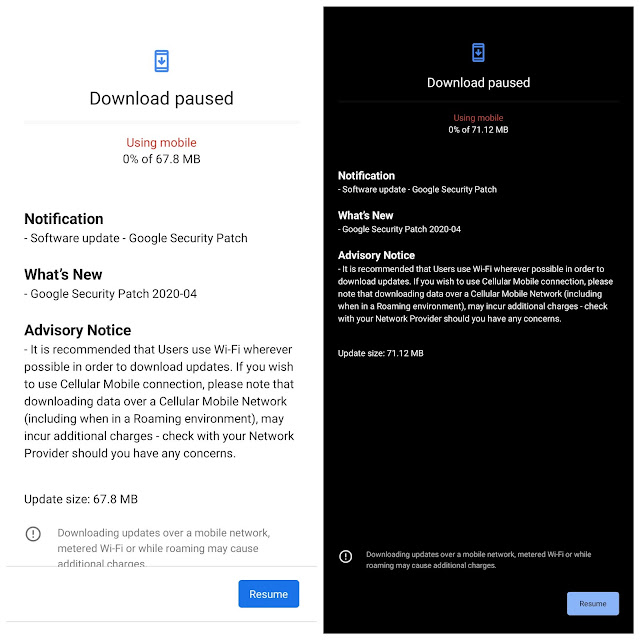 Nokia 6.2 receiving April 2020 Android Security Patch