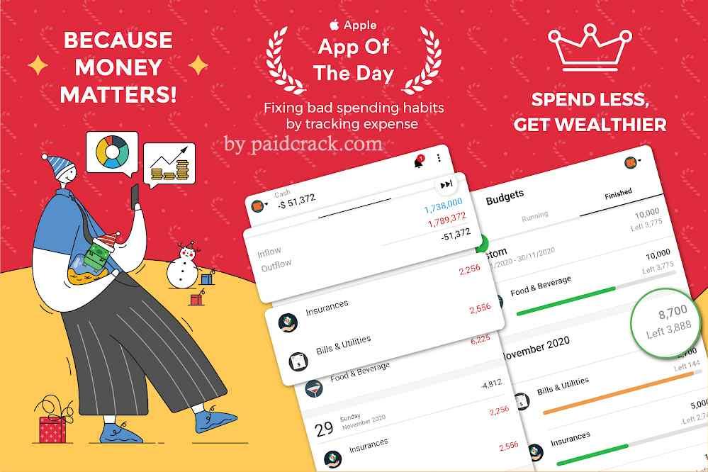 Money Lover: Expense Manager & Budget Tracker Premium Mod Apk 4.9.1