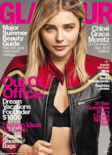 Chloe Grace Moretz talked to Glamour magazine