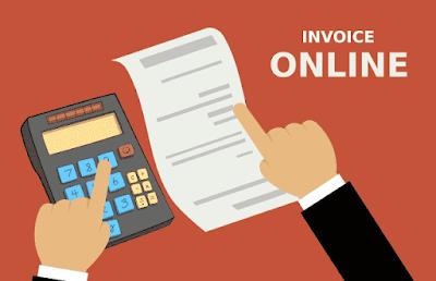 cara buat invoice tagihan online nota
