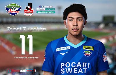 PES 2021 Faces Taisei Miyashiroby CongNgo