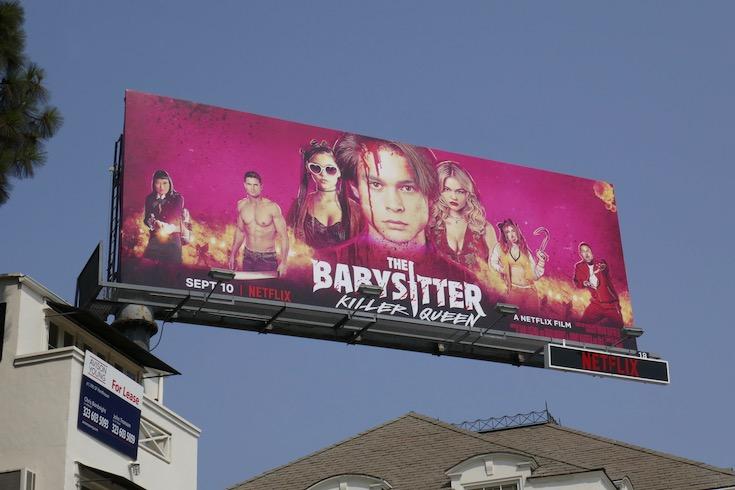 Babysitter Killer Queen billboard
