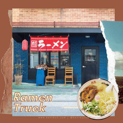 Ramen truck Hongdae