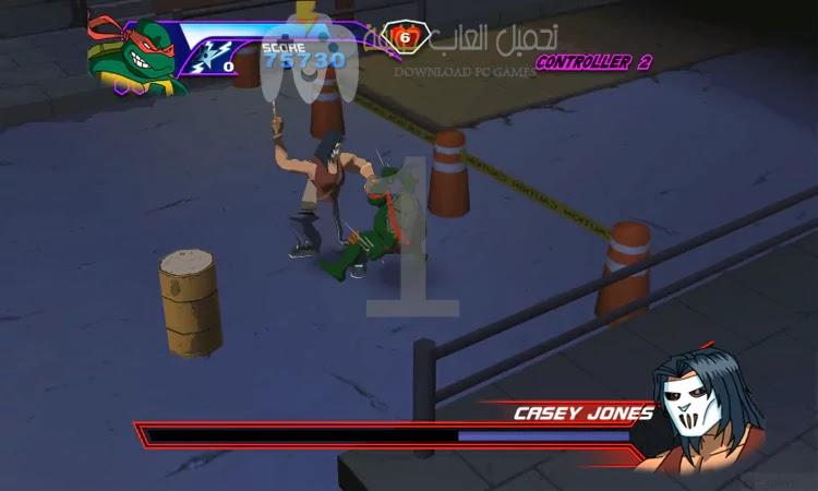 تحميل لعبة سلاحف النينجا جميع الاصدارات للكمبيوتر برابط مباشر بحجم صغير