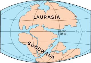 Teori Laurasia-Gondwana