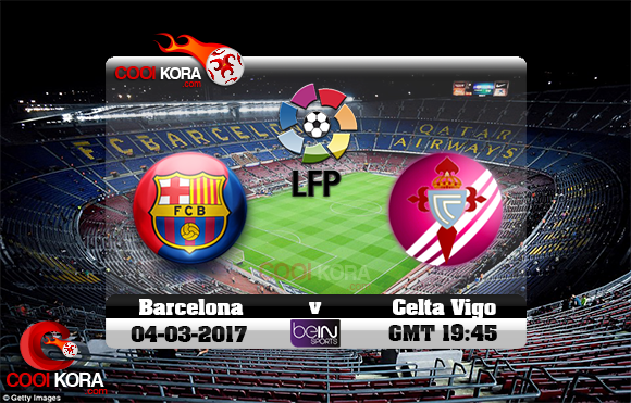مشاهدة مباراة برشلونة وسيلتا فيغو اليوم 4-3-2017 في الدوري الأسباني