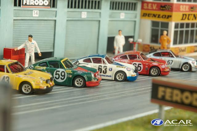 Porsche 911 24h Le Mans 1970 h0 Slot Car
