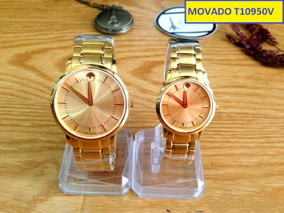 Đồng hồ cặp đôi Movado T10950V