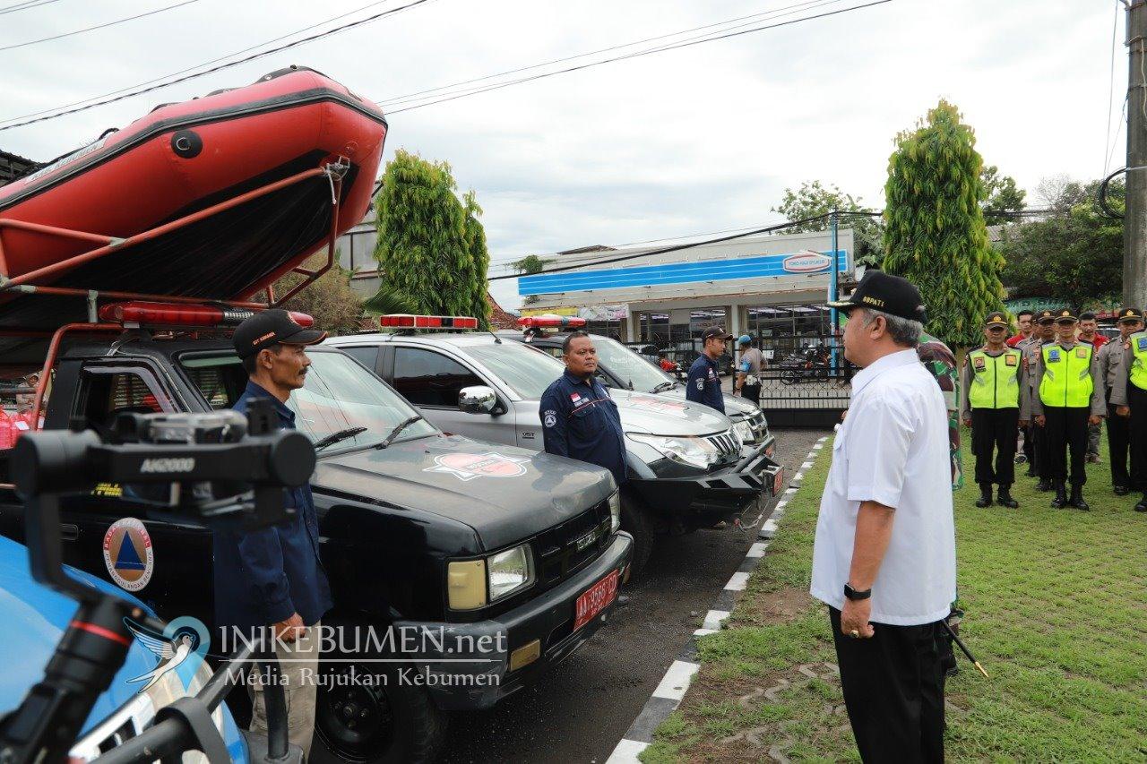Polres Kebumen Gelar Pasukan Kesiapsiagaan Penanggulangan Bencana Alam