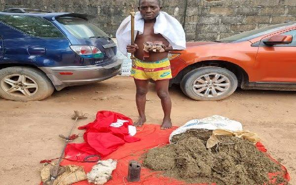 Police Arrest Alleged ESN 'Native Doctor' With An Improvised Explosive Device (IED)