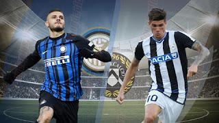 مشاهدة مباراة إنترميلان وأودينيزي بث مباشر | اليوم 15/12/2018 | الدوري الايطالي Inter Milan vs Udinese live