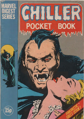 Marvel UK, Chiler Pocket Book #1, Dracula