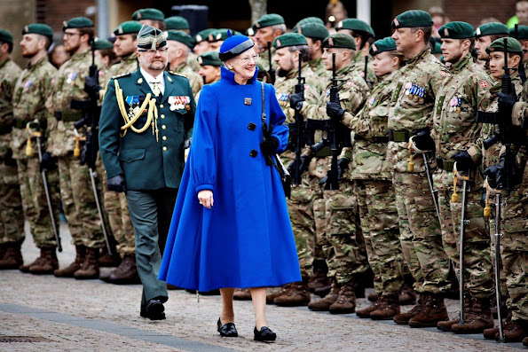Queen Margrethe of Denmark visited Army Intelligence Center and supervised the pageant