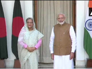 India and Bangladesh Virtual Summit