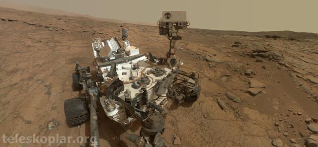 Curiosity keşif aracı