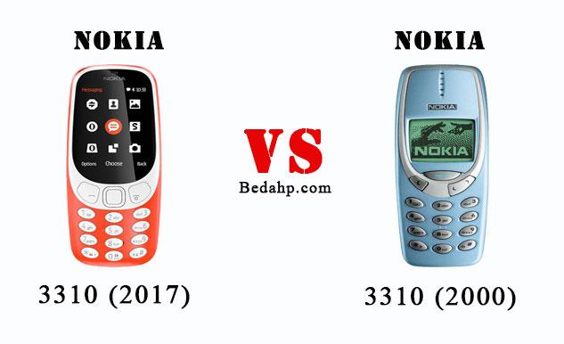Perbedaan Nokia 3310 (2017) VS Nokia 3310 (2000)