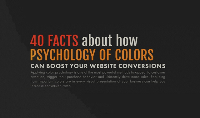 40 Facts About How Psychology of Colors Can Boost Your Website Conversions