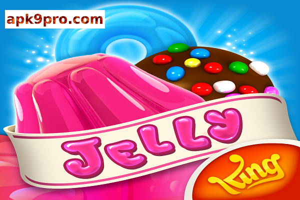 Candy Crush Jelly Saga v2.46.14 Apk + Mod (File size 104 MB) for android