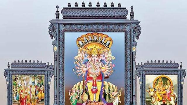 2018 Khairatabad Ganesh - Saptha Mukha Kala Sarpa Maha Ganapathi