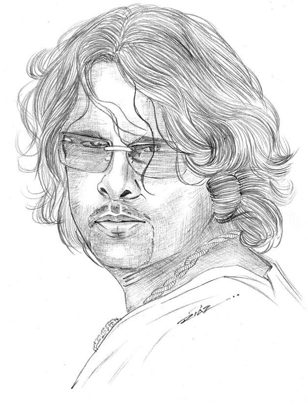 Heroes pencil sketches for desktop