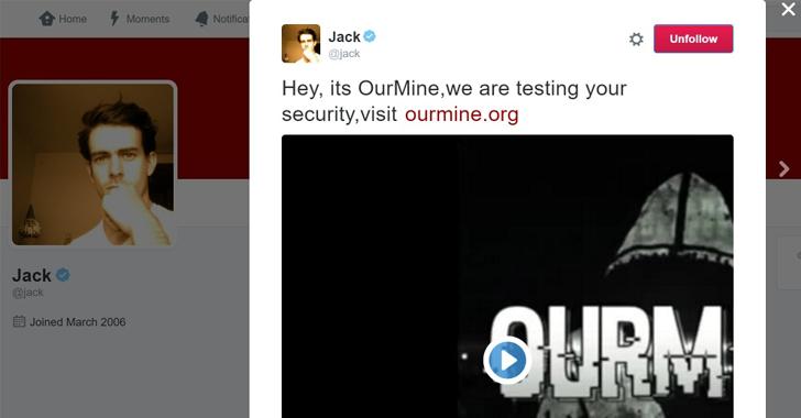 Twitter CEO Jack Dorsey hacked