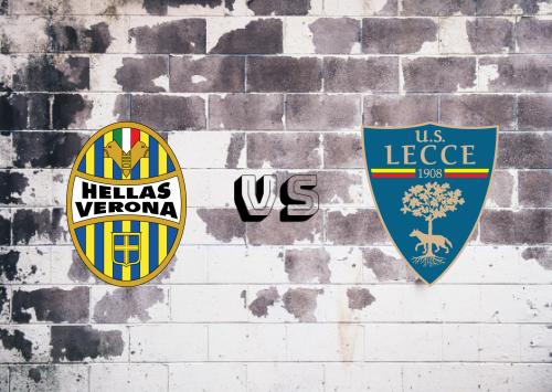 Hellas Verona vs Lecce  Resumen