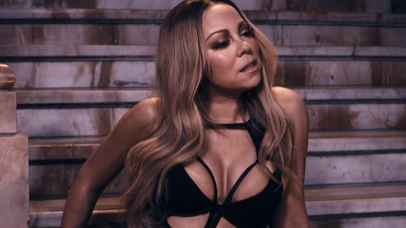 "Dona do hit mais bem sucedido na história da Hot 100, Mariah se uniu ao French Montana para barrar ""Despacito""."