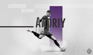 Andriy Lunin cedido al Real Valladolid