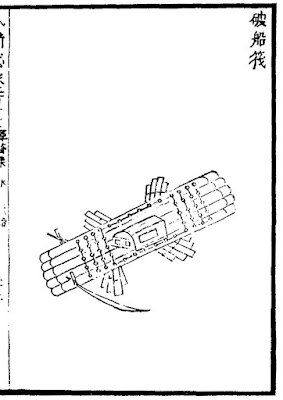 Ming Dynasty anti-ship raft