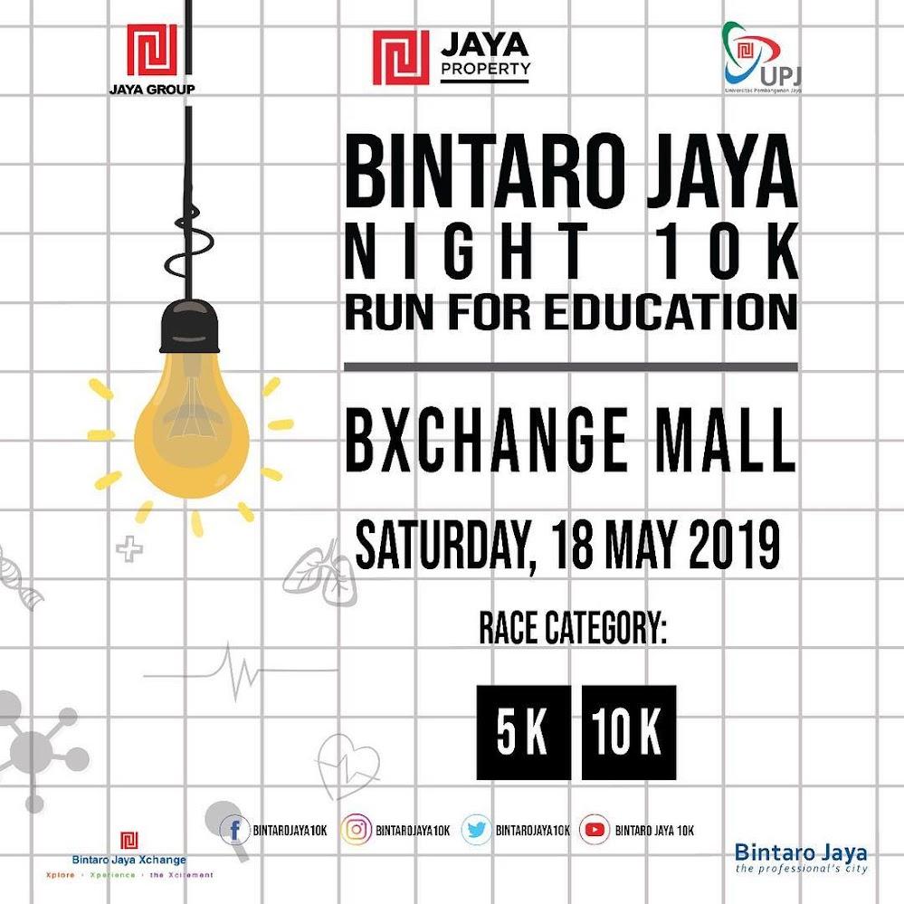 Bintaro Jaya Night 10K • 2019