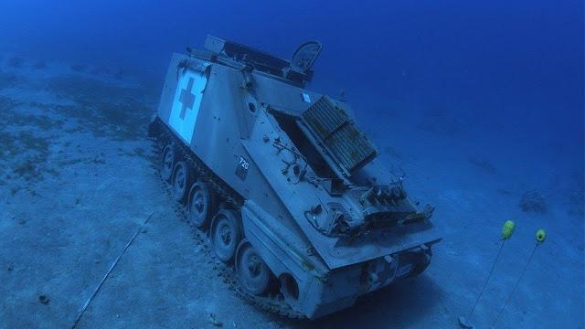 underwater military museum jordan