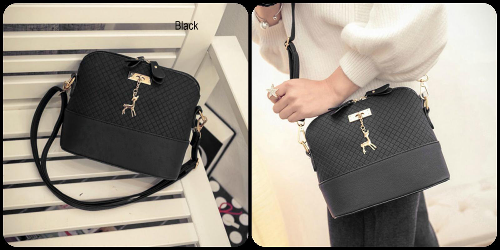 71e6738d9c2 5) Women Fashion Embossed Leather Messenger Purse Satchel Tote Handbag  Shoulder Bag