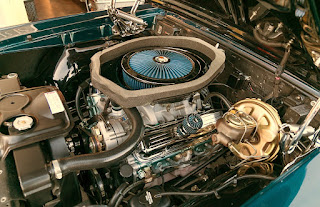 1967 Pontiac LeMans GTO Convertible Baggage Engine 3