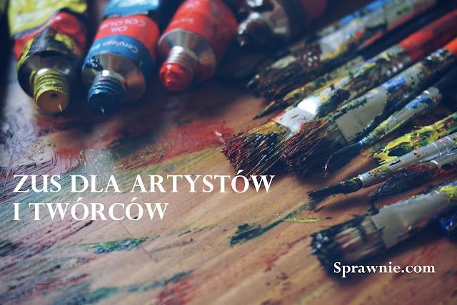 zus dla artystów i twórców